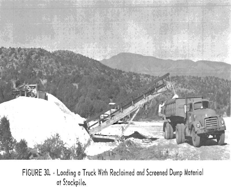 mining methods costs stockpile