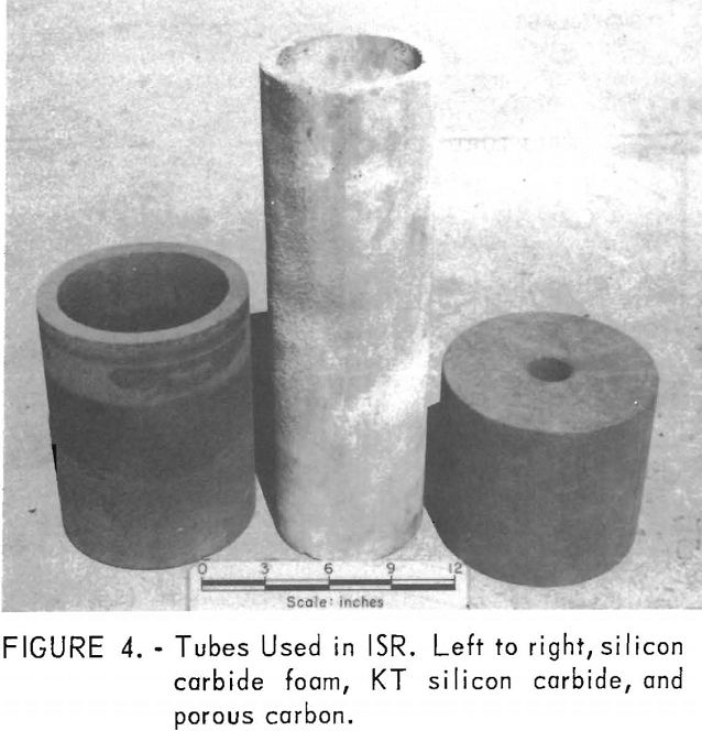 nuclear reactor system tubes used in isr