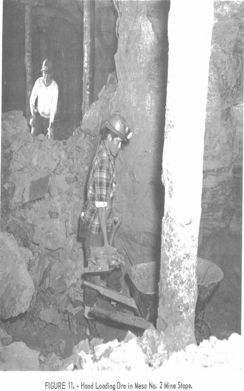 uranium mining hand loading ore