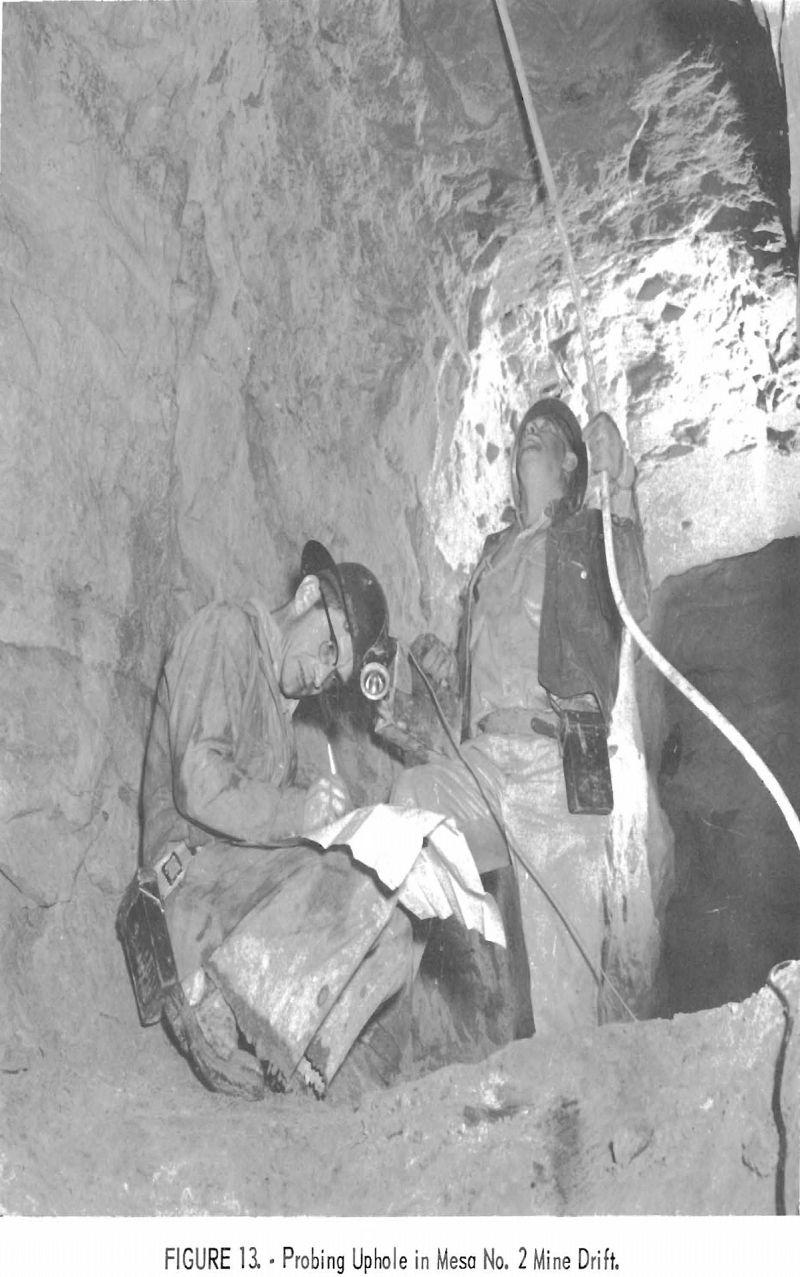 uranium mining probing uphole