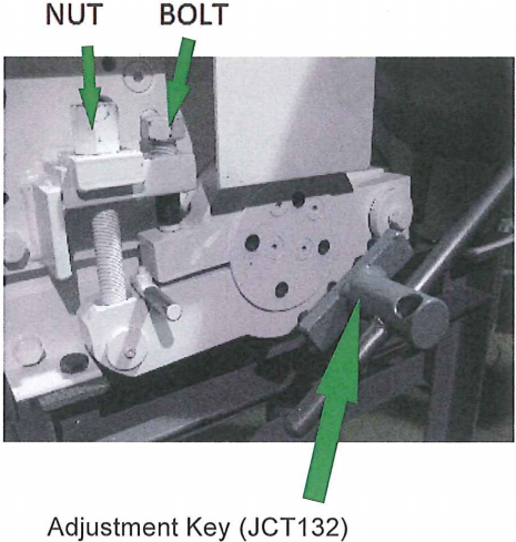 Jaw Crusher Adjustment Key