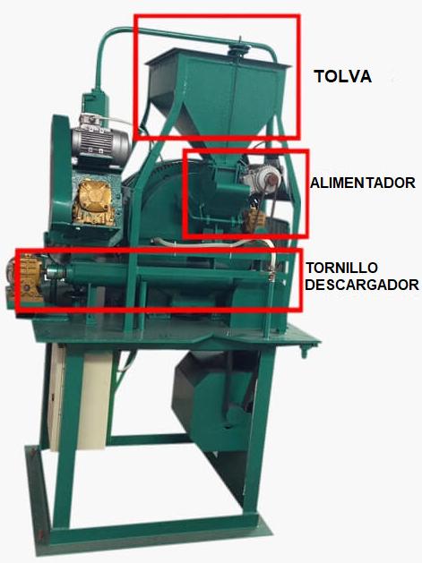 Molino para Planta Piloto de 10 a 150 kg h 9