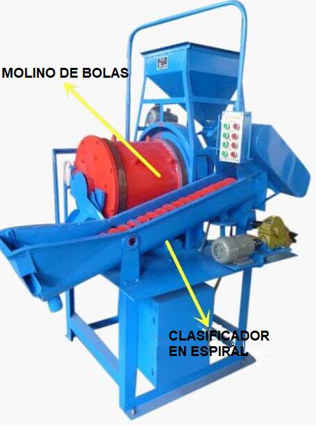 Molino para Planta Piloto de 10 a 150 kg h Clasificador 2