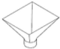 Chancadora De Quijada Portatil De 5″ X 7″ Tolva colectora de polvo