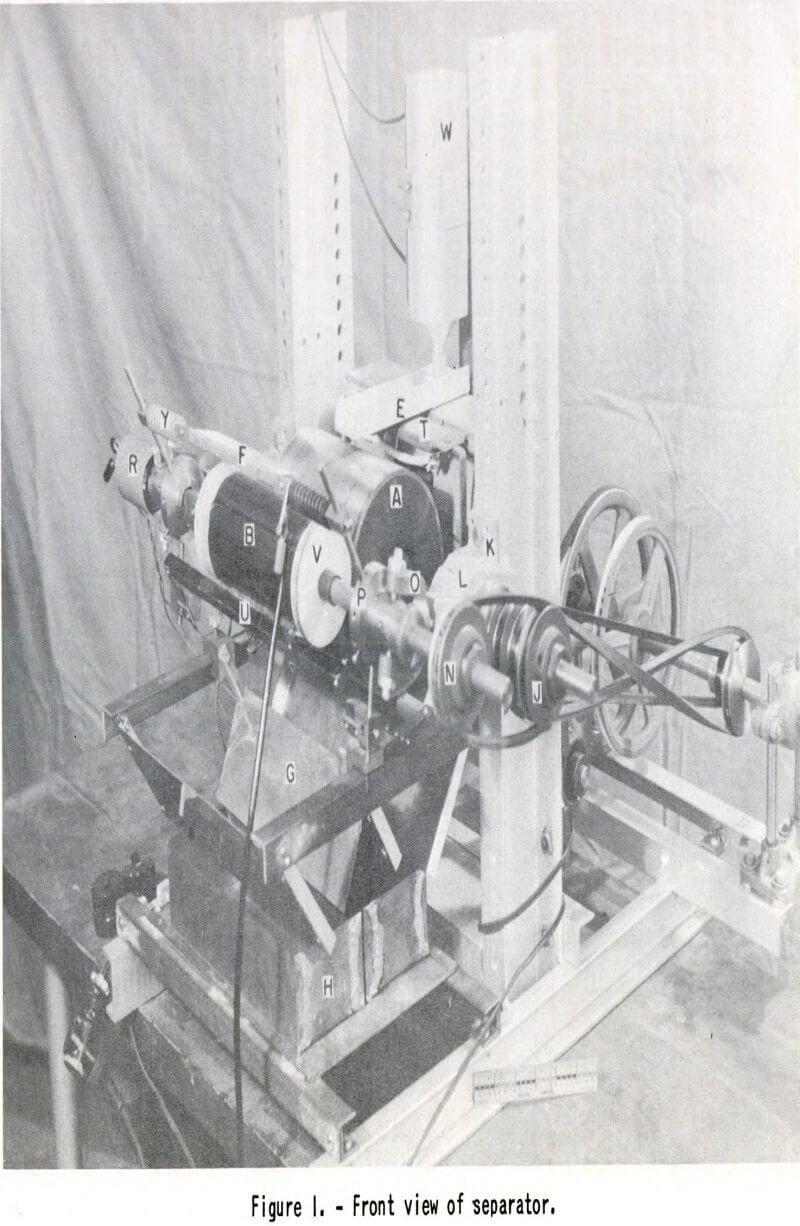 Separador Electrostatico 8