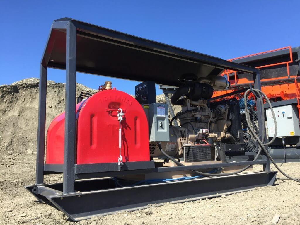 Generador Para Planta De Lavado De Oro 4